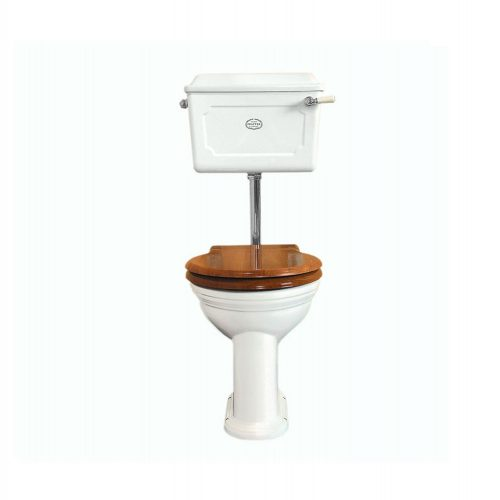 West One Bathrooms Online low level ceramic cistern wc set white cp