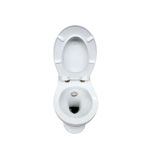 West One Bathrooms Online – Thomas Crapper Back to wall Venerable WC Pan & Essentia Seat (open)