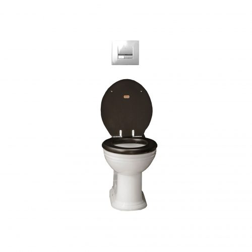 West One Bathrooms Online – Thomas Crapper Venerable Back To Wall Toilet Set CP