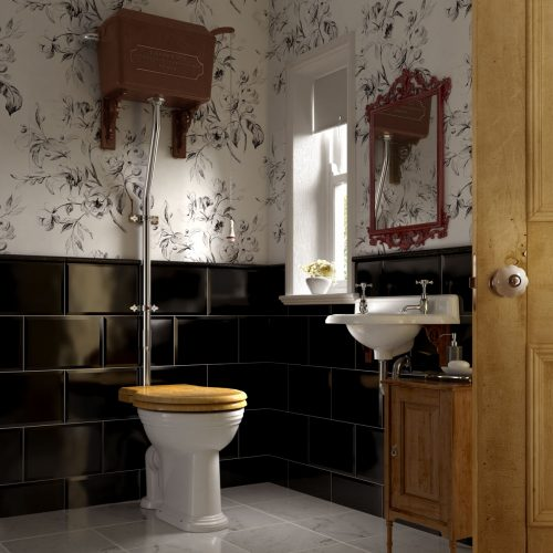 West One Bathrooms – Thomas Crapper Cloakroom  (RT)