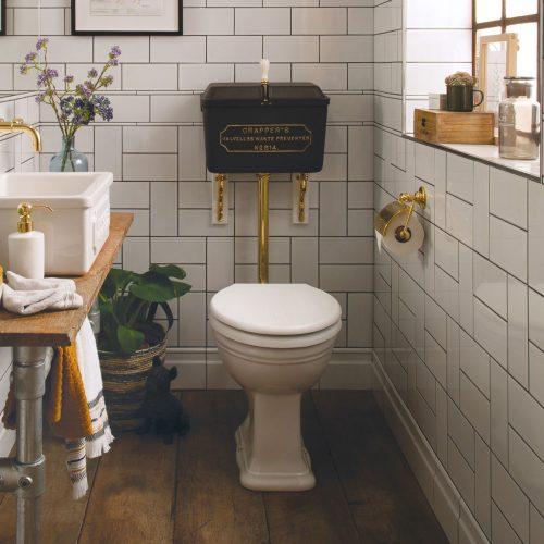 West One Bathrooms  Thomas Crapper – Cloakroom set