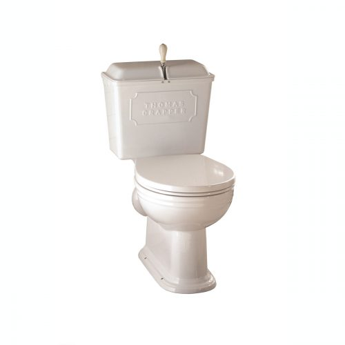 West One Bathrooms  Thomas Crapper ViceroyWCPanCisternWhite scaled
