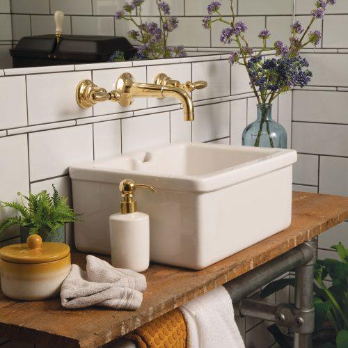 West One Bathrooms Online Thomas Crapper Cloakroom Basin