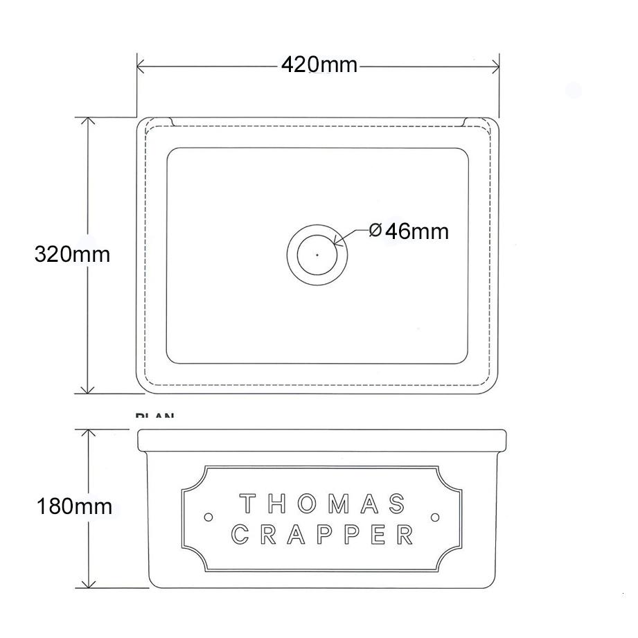 Thomas Crapper Harwood Basin Technical