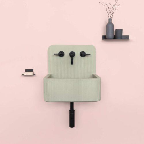 West One Bathrooms   Kast+Concrete+Basins+Elm+Mini+ +Sage