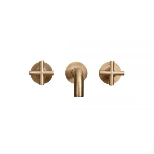 West One Bathrooms Axxis 3 hole basin mixer