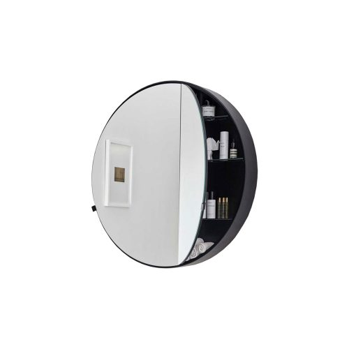 west one bathrooms online Cielo Catini Round Box Mirror