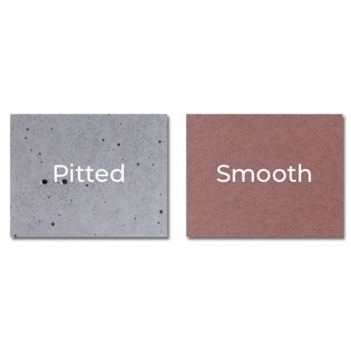 Pitted or Smooth Surface Concrete Basins