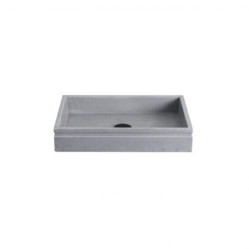 west one bathrooms piazza concrete basin cut out 02