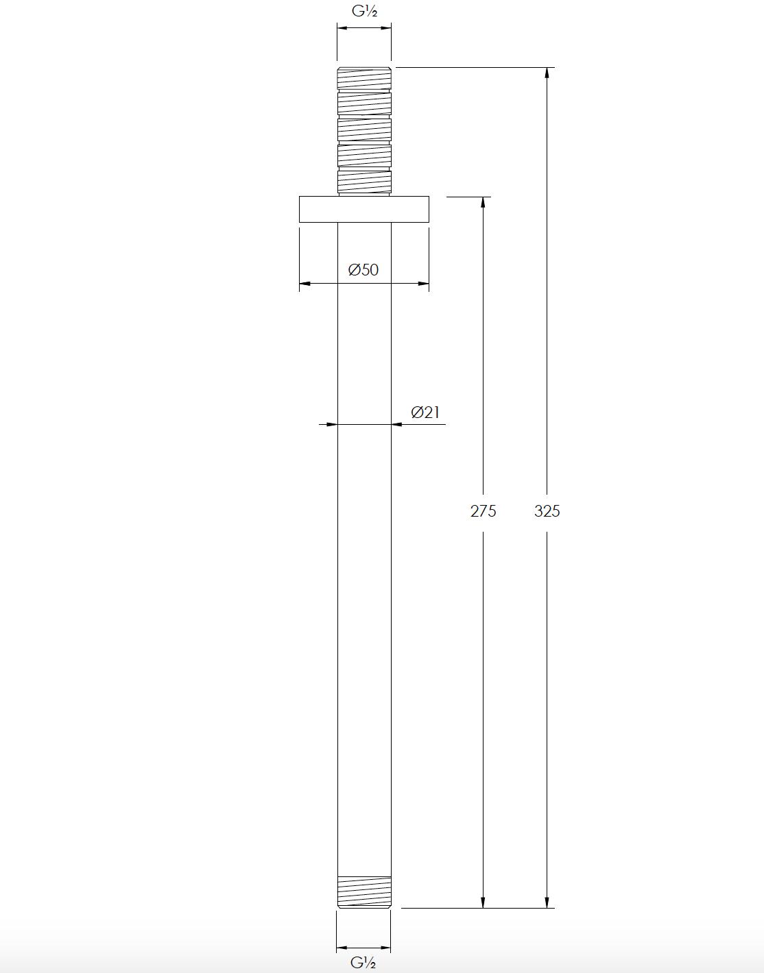 Coalbrook Ceiling Arm Technical