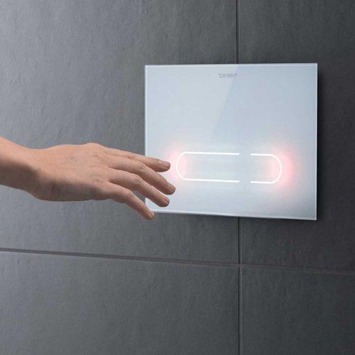 West One Bathrooms a2 flush plate duravit