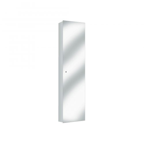 West One Bathrooms Allumino Tall Cabinet