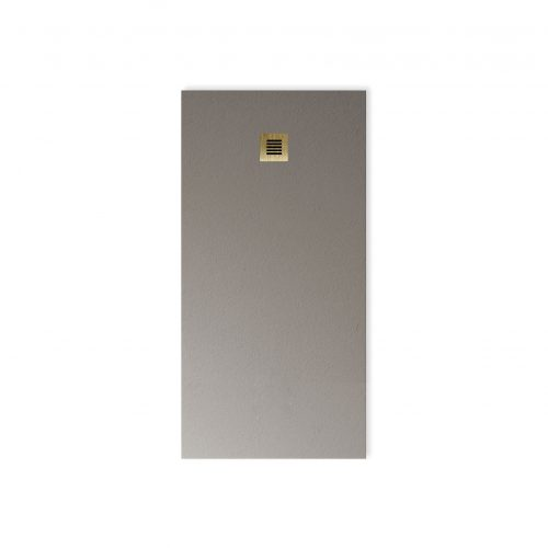 West One Bathrooms Online BASE Dusty Grey BB Grating