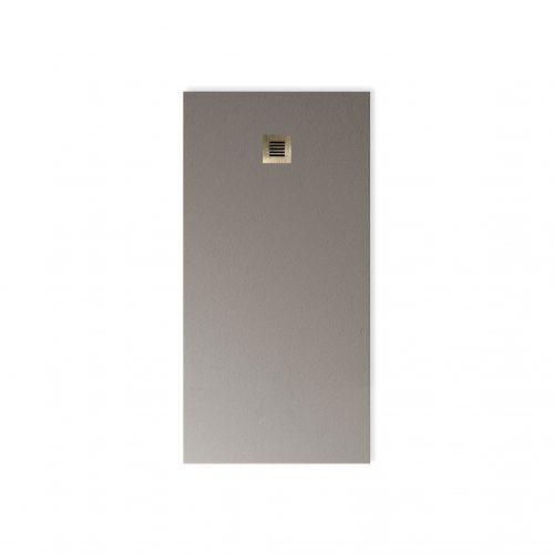 West One Bathrooms Online BASE Dusty Grey LB Grating