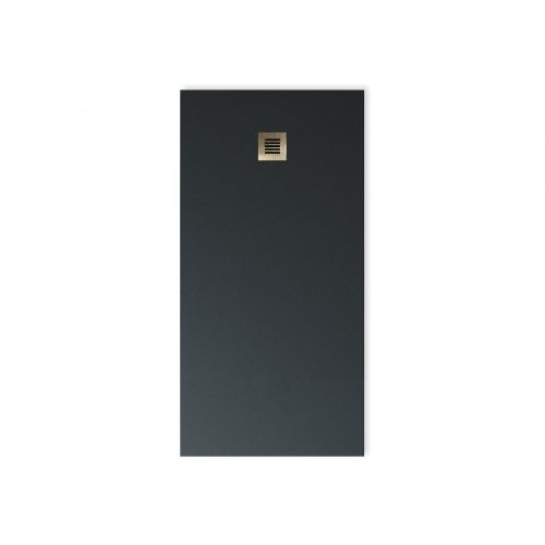 West One Bathrooms Online BASE Graphite Grey LB Grating