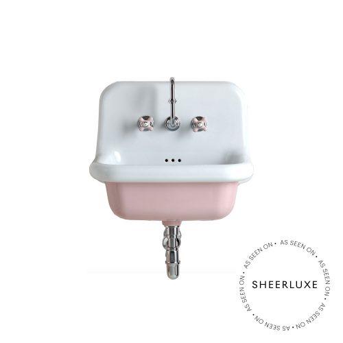 west one bathrooms online broadwaybasin600 pink