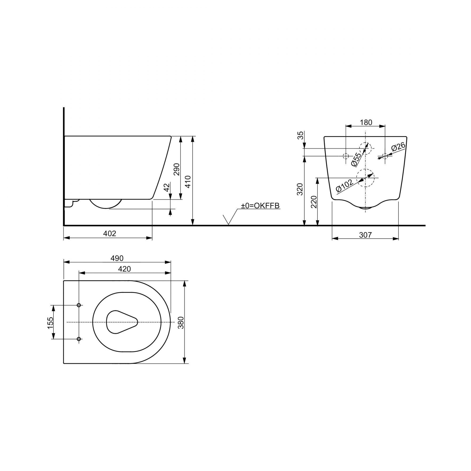 West One Bathrooms Online Tech CW554Y 2D