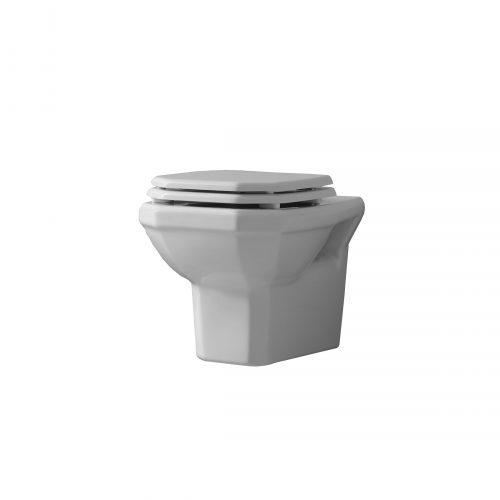 West One Bathrooms Online Valbonne WallHung WC bianco