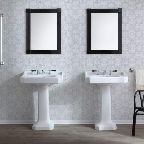 West One Bathrooms Provence Pedestal Basin