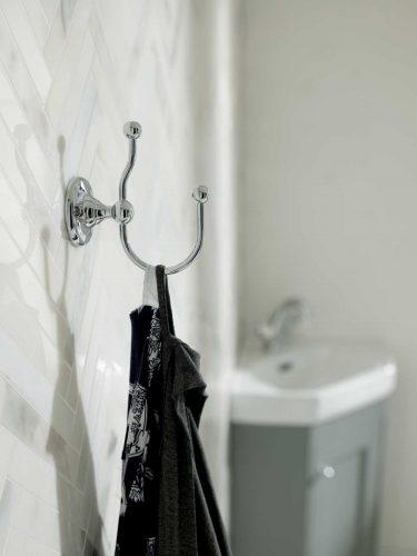West One Bathrooms Robe Hook
