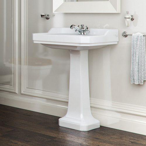 west one bathrooms romana pedestal