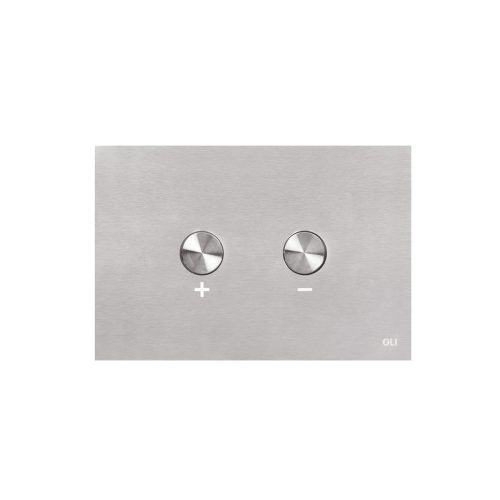 West One Bathrooms BLINK Brushed Stainless Steel