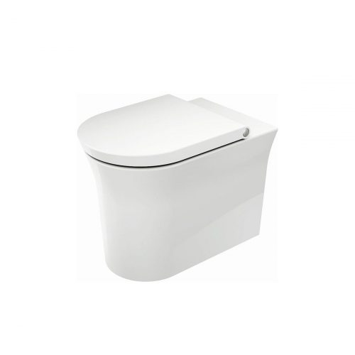 West One Bathrooms Online WhiteTulip Back to Wall WC 01