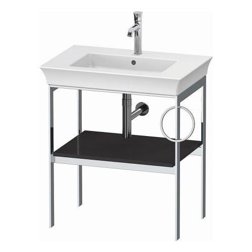 West One Bathrooms White Tulip Metal Consol R