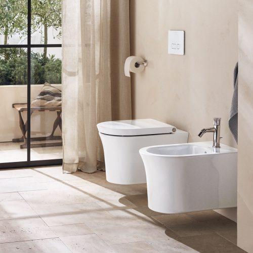 West One Bathrooms – WhiteTulip Wand WC