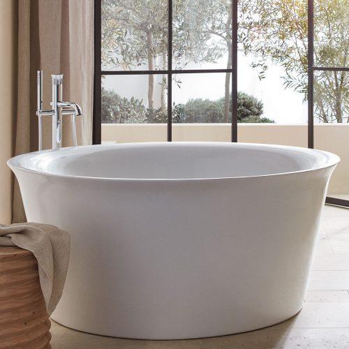 WhiteTulip round bath