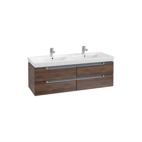 VB Soho double basin & vanity unit
