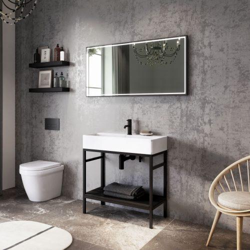 West One Bathrooms Online Concept Noirn 80cm