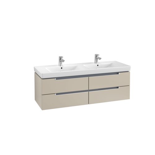 West One Bathrooms Online VB soho double basin & vanity unit