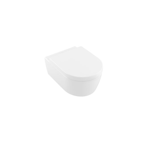 West One Online VB Solna Rimless Wall Hung WC & Soft Close Seat