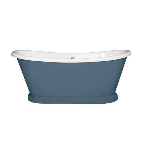 West One Bathrooms Online bas063 baths v1 Stiffkey Blue No281 WEB