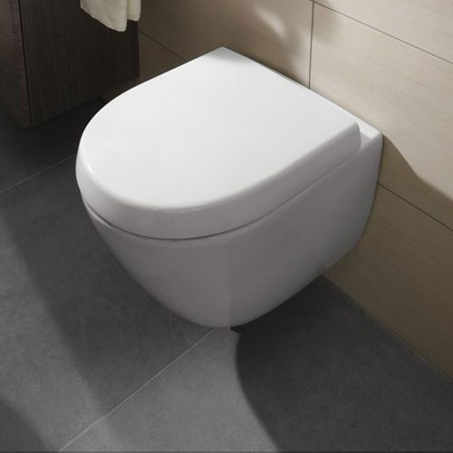 West One Online Soho Compact Wall Hung WC & Soft Close Seat Lifestyle