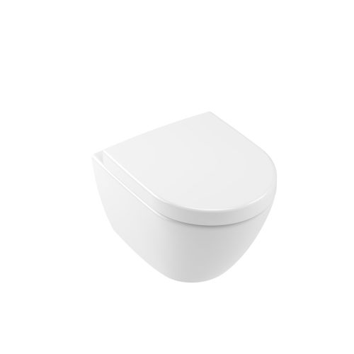 West One Online VB Soho Compact Wall Hung WC & Soft Close Seat